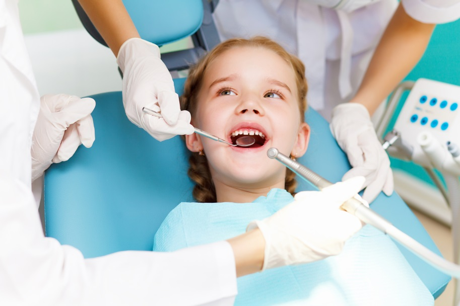 professional dental care or my child