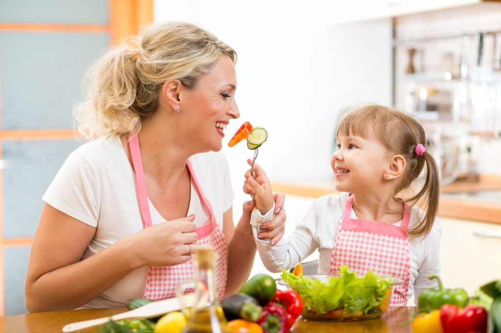 important for children to eat well